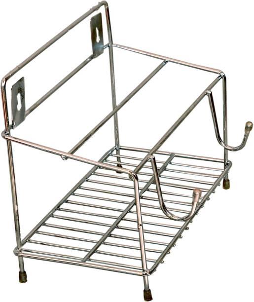 Maxtan Chakla Belan Tawa Chimta Stand 5.5mm Wire 4 in1 Holder Stainless Steel Chakla/Belan Kitchen Rack Chakla/Belan Kitchen Rack