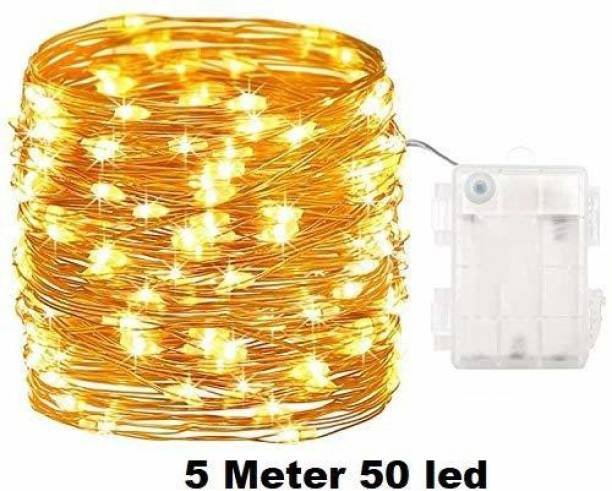 A one creations 197 inch Transparent Rice Lights