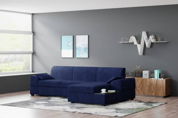 Flipkart Perfect Homes Nova Right facing Fabric 5 Seater  Sofa
