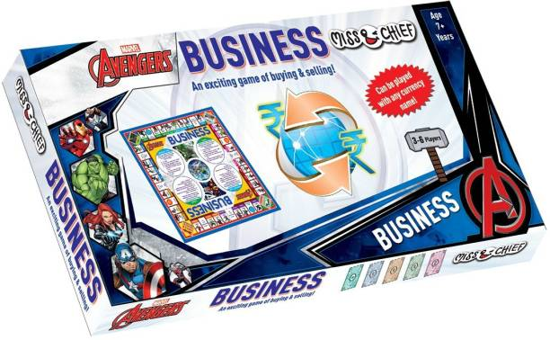 Miss & Chief Avengers Business Money & Assets Games Board Game