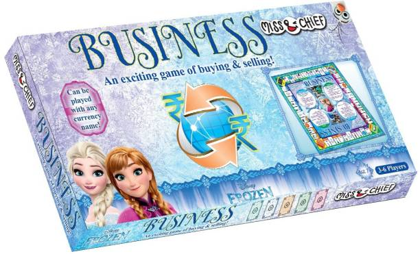 Miss & Chief Frozen Business Money & Assets Games Board Game