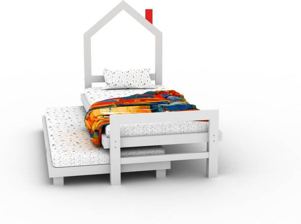 Lycka Home Bed Solid Wood Loft Bed