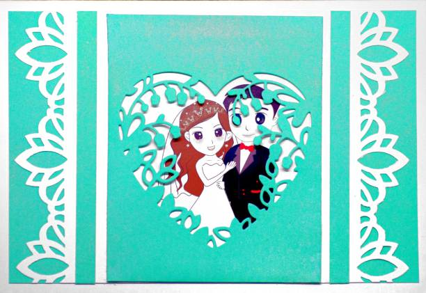 AanyaCentric AanyaCentric Handmade Sky Blue Special Gift for Husband Wife Boyfriend Girlfriend Lover Greeting Card