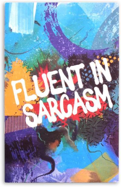 doodle Sarcastic Fluency A5 Notebook Ruled 160 Pages