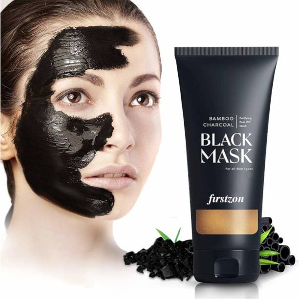 FIRSTZON Bamboo charcoal purifying peel off black mask