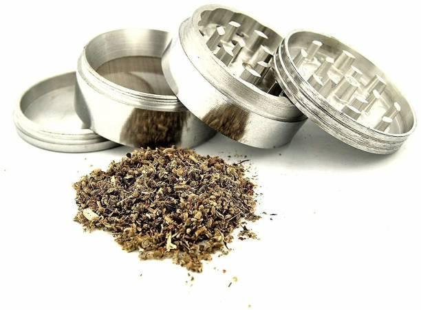 Separateway Classic Metallic Herb crusher, Grinder Medium with filter (Herb grinder/Herb crusher 50MM) Hand Muller Grinder