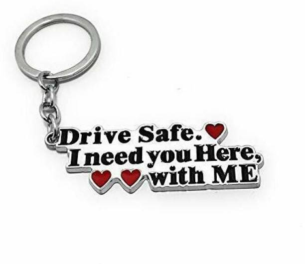 Techpro Metal Drive Safe, I Need You Here with Me Key Chain
