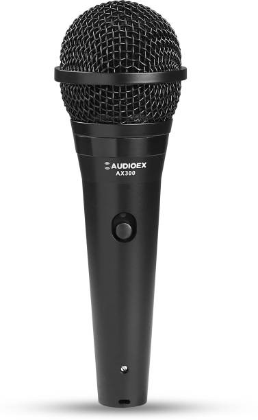 AUDIOEX Professional Dynamic Wired Microphone for Stage, Studio, Karaoke and PA Systems Microphone