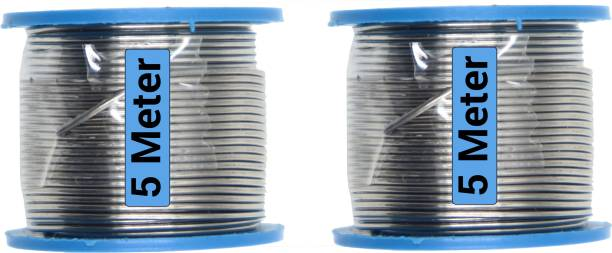 Hillgrove 10 Meter Tin-Lead Alloy Soldering Wire (Quick Melt and Rapid Solidification with Good Tensile Strength) for and above 0 W Simple