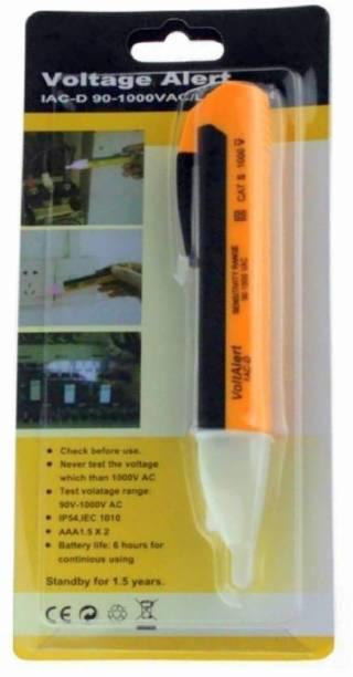INDITRUST With Light & Sound Electric AC Voltage Alert Detector Tester Test Pen 90-1000v Analog Voltage Tester