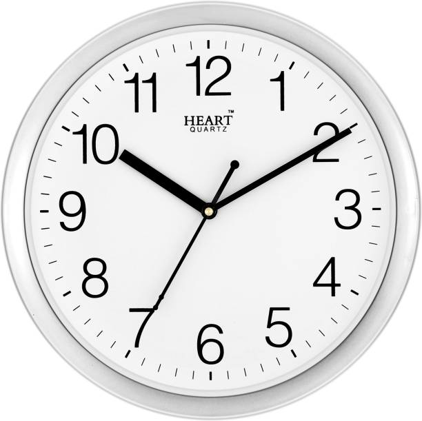 Heart Quartz Analog 25 cm X 25 cm Wall Clock