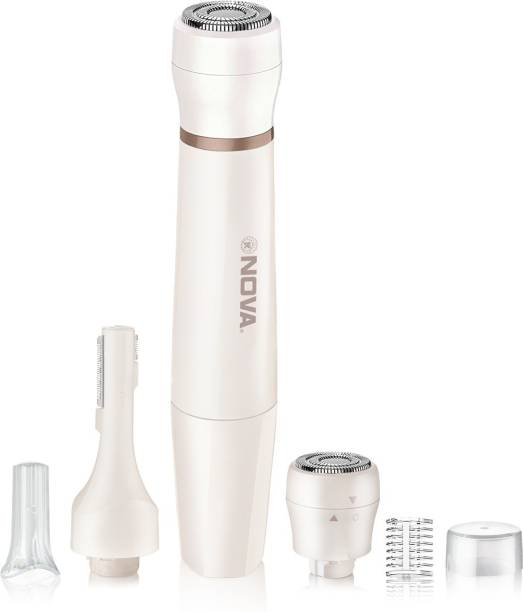 NOVA NLS 532 Facial Sensi-Trim Touch  Runtime: 60 min Trimmer for Women