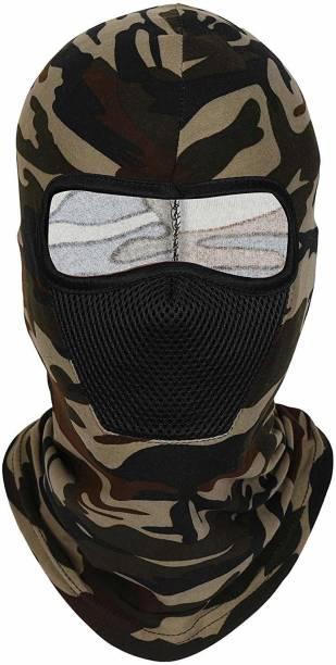 Navkar Crafts Green Bike Face Mask for Men & Women