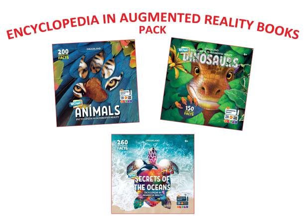 Wow Encyclopaedia In Augmented Reality Series (A set of 3 Books)
