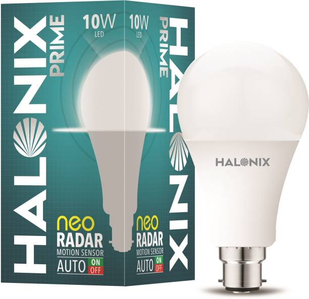 Halonix 10W Round B22 Neo Radar Motion Sensor bulb Pack of 1