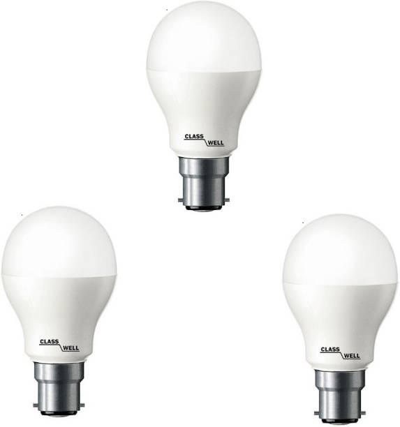 CLASS WELL 7 W Round B22 LED Bulb