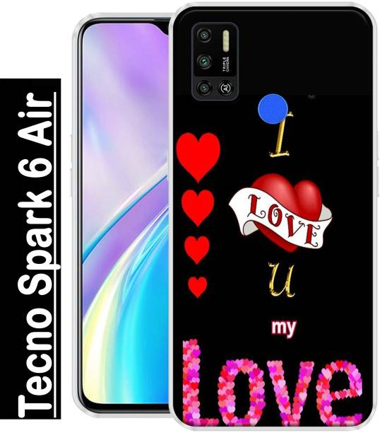 REALKING Back Cover for Tecno Spark 6 Air