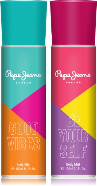 Pepe Jeans London Good Vibes and Be Yourself Body Mist  -  For Women