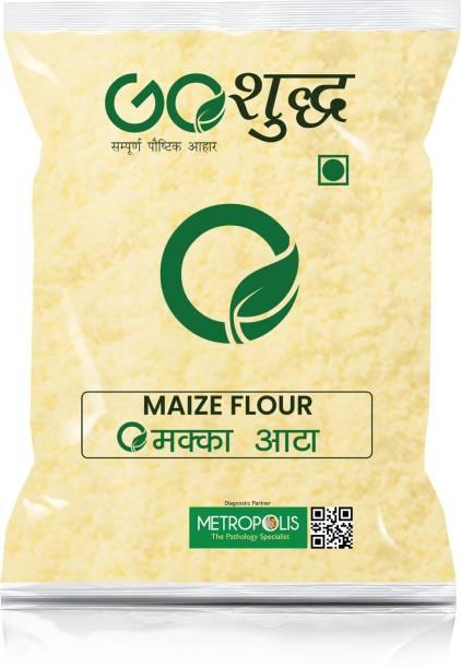 Goshudh Premium Quality Maize/Makka Atta/Flour 500 g