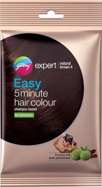 Godrej Expert Easy 5 Minute Hair Colour Natural Brown , Natural Brown