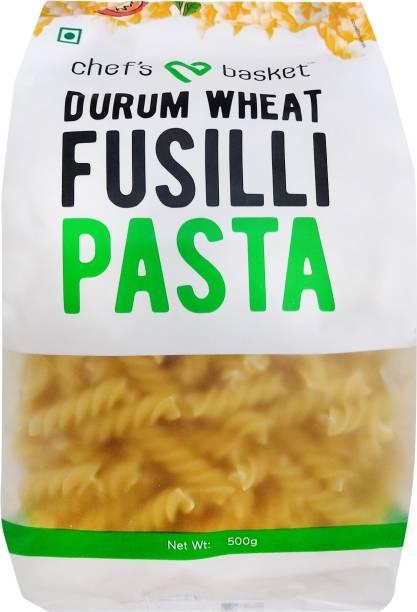 CHEF'S BASKET Durum Wheat Fusilli Pasta