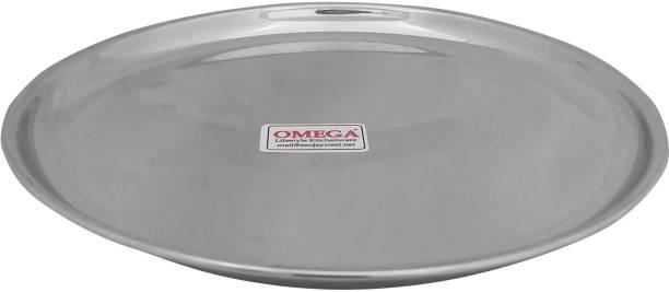 Omega Stainless Steel Dinner Plate