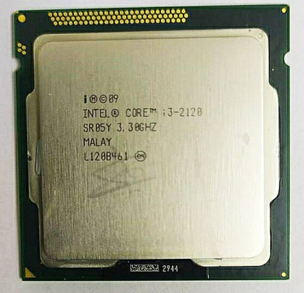 Intel i3-2120 3.3 GHz LGA 1155 Socket 2 Cores 4 Threads 3 MB Smart Cache Desktop Processor