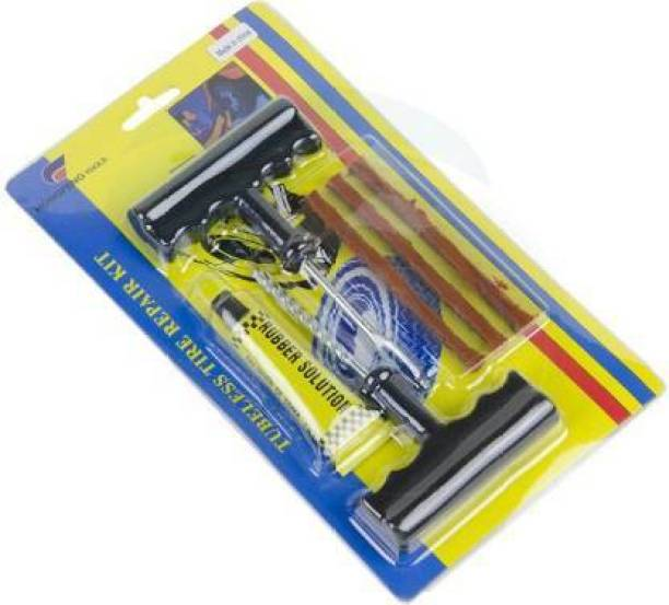 STYHAVE AUTOMART TRADERS Puncher Kit Tubeless Tyre Puncture Repair Kit Tubeless Tyre Puncture Repair Kit