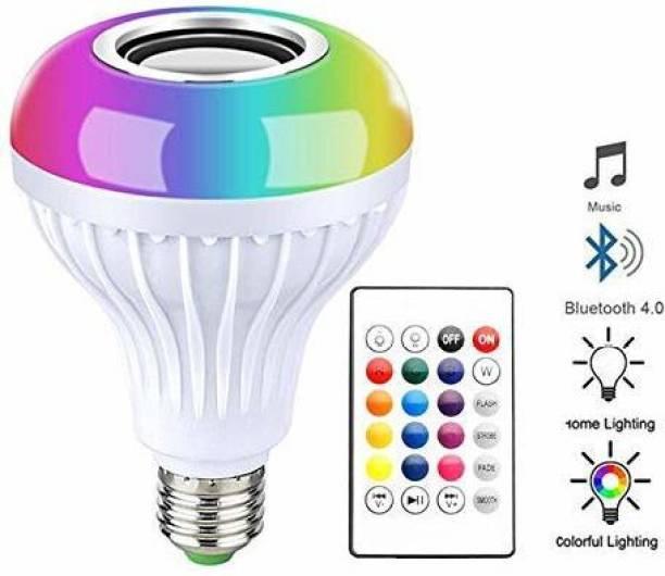 mervlex 12 W Round B22 Decorative Bulb