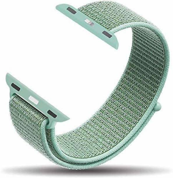 gettechgo Nylon Replacement Band Strap 42mm/44mm (Marine Green) Smart Watch Strap