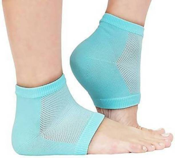 Vioricavibes Heel Pain Relief Silicon Gel Heel Socks Pad For Foot Arch Support Heel Support