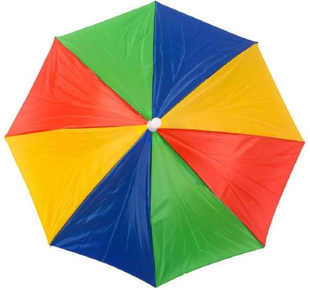 Vegmine RL-5 Hands Free- Umbrella Hat to Protect from Sun & Rain for School Going Kids and Adults Umbrella (PACK OF 1) Umbrella