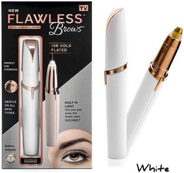 NEW FLAWLESS BROWS NEWFLAWLESSBROWS REMOVES HAIR INSTANTLY&PAIN FREE  Runtime: 30 min Trimmer for Women