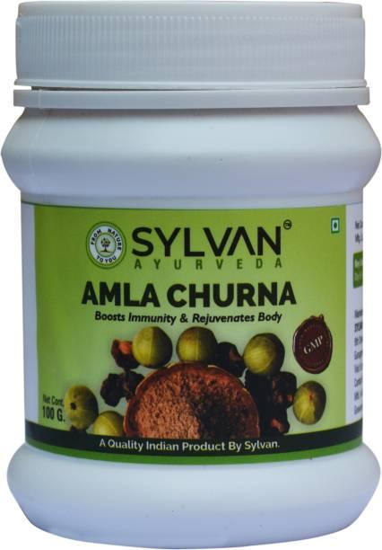SYLVAN AYURVEDA AMLA CHURNA- 100 Gms. X 2 Packs