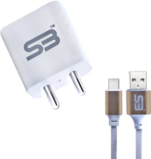 SB Power Adapter Mobile Charger 3.1A Type C Data cable Suitable for All 5 W 3.1 A Multiport Mobile Charger with Detachable Cable