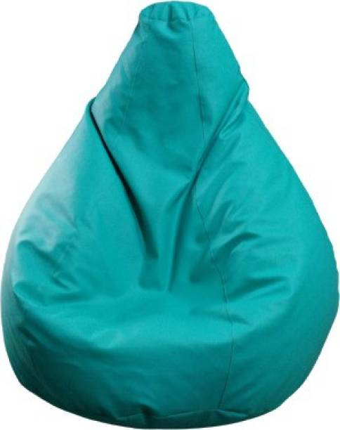 Cosmos XXXL Tear Drop Bean Bag Cover  (Without Beans)