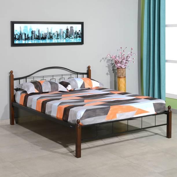 Nilkamal Valentia Metal Queen Bed