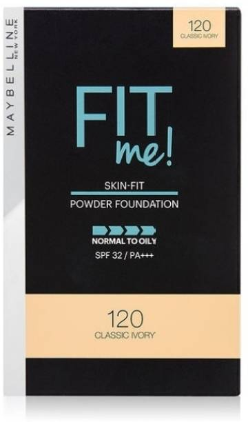 MAYBELLINE NEW YORK SKIN FIT POWDER FOUNDTION Compact