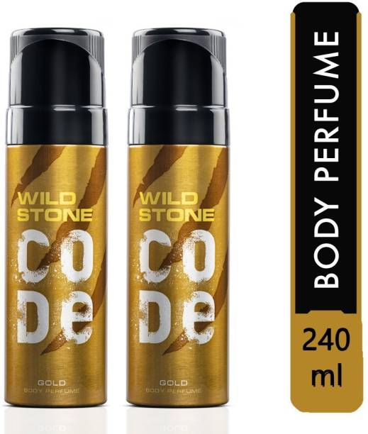 Wild Stone GOLD Body Spray Deodorant Spray  -  For Men