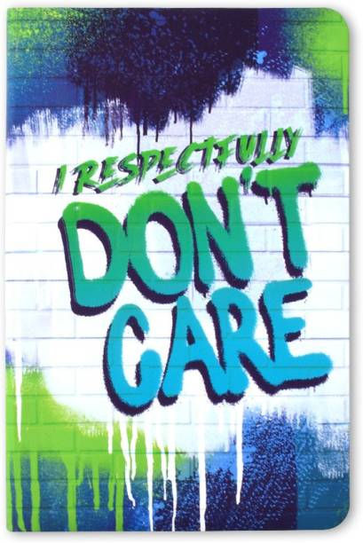 doodle Respectful Rebel Notebook A5 Notebook Ruled 160 Pages