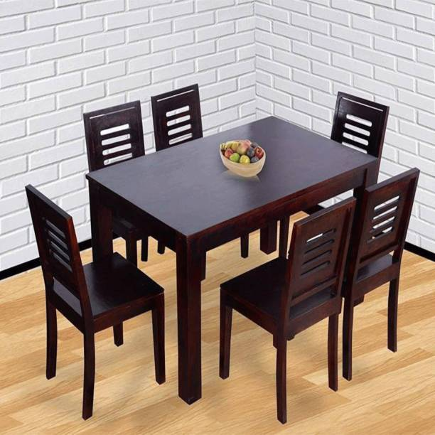 Kendalwood Furniture Solid Wood 6 Seater Dining Table