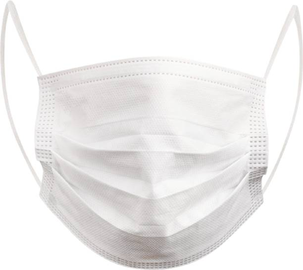 Halo Face Mask 3 Layers Of Non Woven Spun Bond fabric Surgical Mask With Melt Blown Fabric Layer