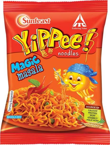 Sunfeast Yippee Magic Masala Instant Noodles Vegetarian