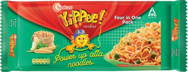 YIPPEE Power Up Masala Instant Noodles Vegetarian