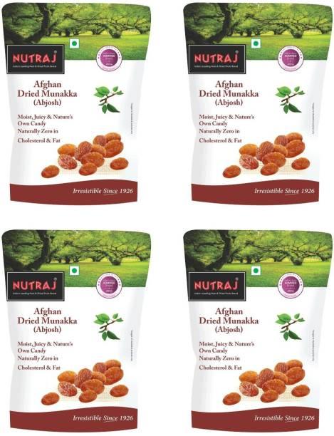 Nutraj Munakka Raisin (Abjosh) 800g (200g X 4), Raisins
