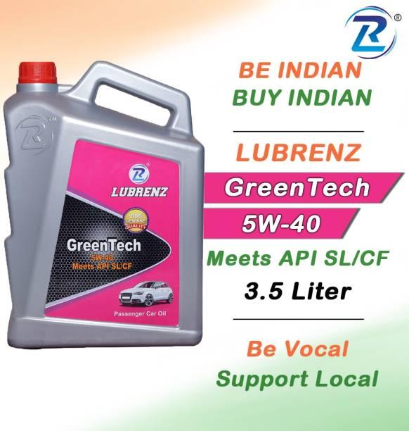 LUBRENZ GreenTech 5W-40 Meets API SL/CF High performence engine oil for car High Performance Engine Oil