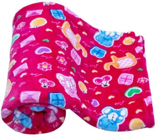 MeeMee Printed Crib Woollen Blanket