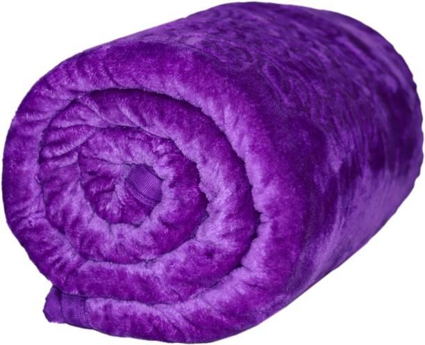 wear me Floral Single Mink Blanket