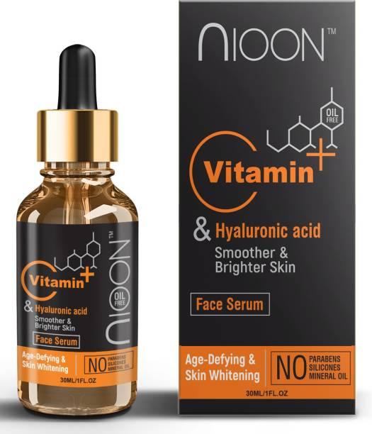 NIOON Vitamin c Serum face Serum, Vitamin E , Vitamin C , Hyaluronic Acid For Radiant Skin , Made in India