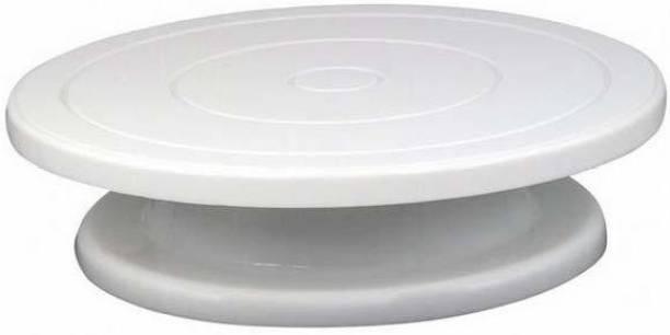 DSC Enterprise cake turn table Plastic Cake Server